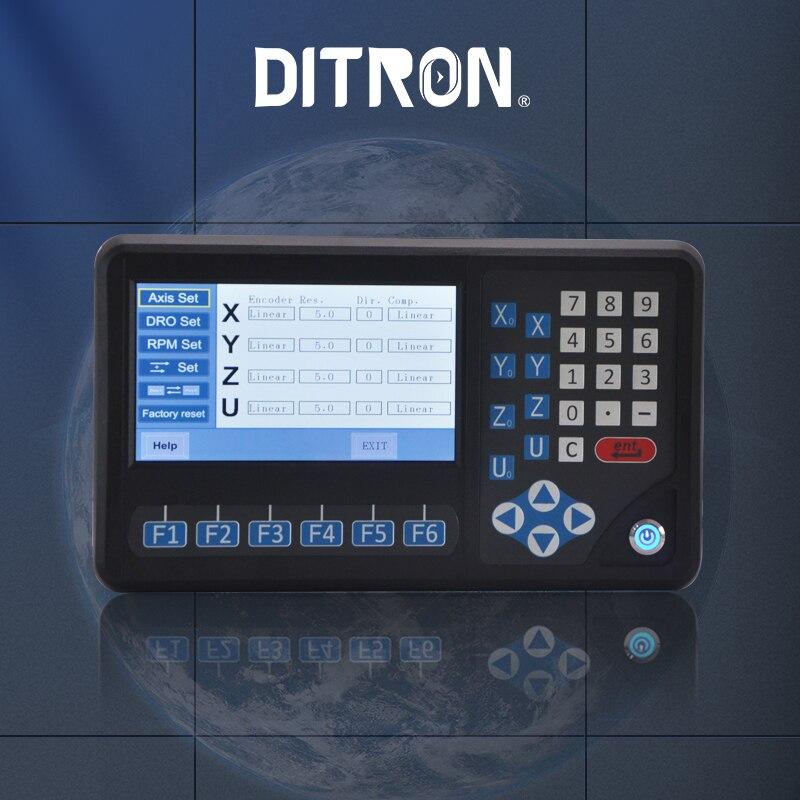 شاشة Dro رقمية ذات 4 محاور لآلة الطحن ، وعداد قراءة رقمي مع 4 محاور RPM