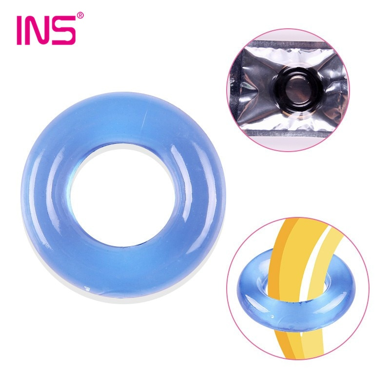 Anillo de pene reutilizable anillo de bloqueo retraso eyaculación juguetes sexuales para hombres castidad devicock mangas de anillo condón de extensión productos para adultos