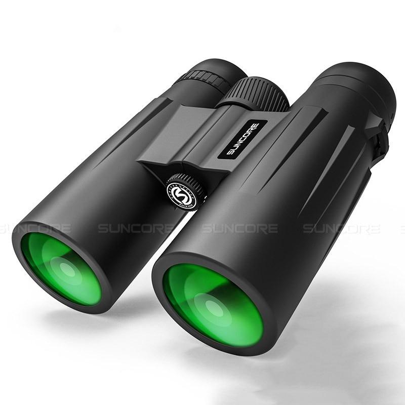 High Power HD Telescope 12x42 Binoculars BK4 Prism Optical Lenses Outdoor Hunting Bird Watching Camping