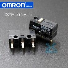 2 pièces OMRON souris Microswitch D2F-01F-T japon convient pour SteelSeries Kinzu Kana Sensei raw XAI MLG Sensei310 D2FC-F-7N 10M 20M