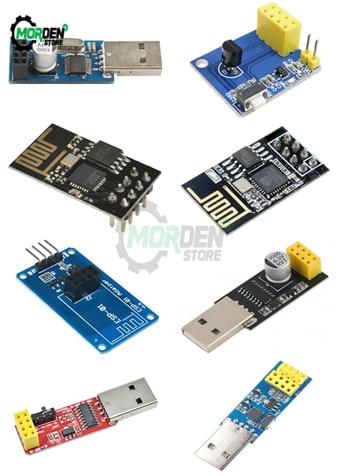 CH340 USB zu ESP8266 Serielle ESP-01 ESP-01S ESP01 ESP01S Drahtlose Wifi Entwicklung Bord Modul DS18B20 Sensor