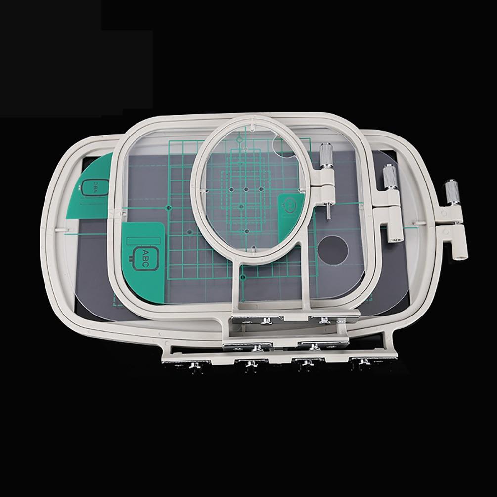 Marco de aro de costura bordado de varias tallas apto para Brother NV500 NV500D NV900 NV950D NV180 P-1000 PE-300S PE-400D EMS10 ZZ3-B140
