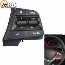 Bouton de Modification multifonctionnel de volant   Module de commande de régulateur de vitesse 1.6L 1.4T pour Hyundai ELANTRA