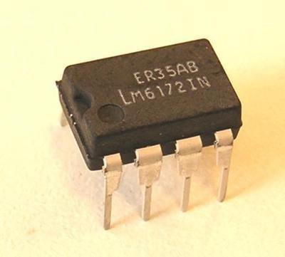 1 pçs/lote LM6172IN LM6172 DIP-8 DIP8 novo original Em Estoque
