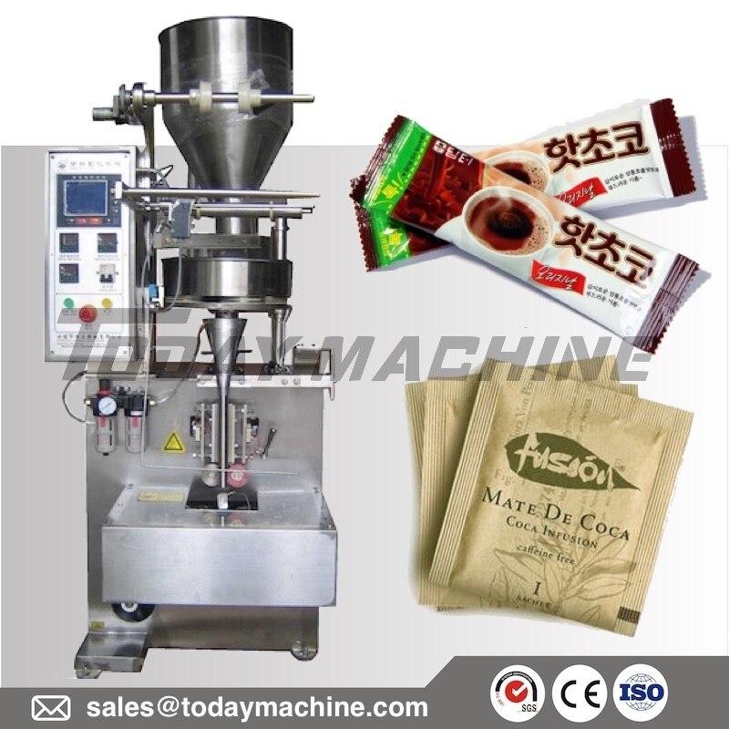 Máquina de envasado de sobres con varilla para té de café y azúcar instantánea de alta calidad