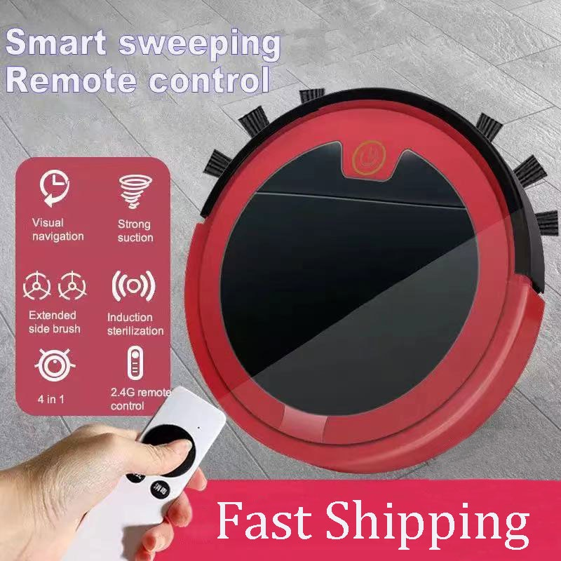 Фото - Vacuum Cleaner Robot 2800Pa Smart Remote Control Wireless  Cleaning Machine Floor Dry Wet For Home Sweeping Robot Vacuum Cleaner xiaomi mijia 1s mi robot vacuum cleaner for home automatic sweeping charge smart wifi app remote control dust sterilize rc cleaner
