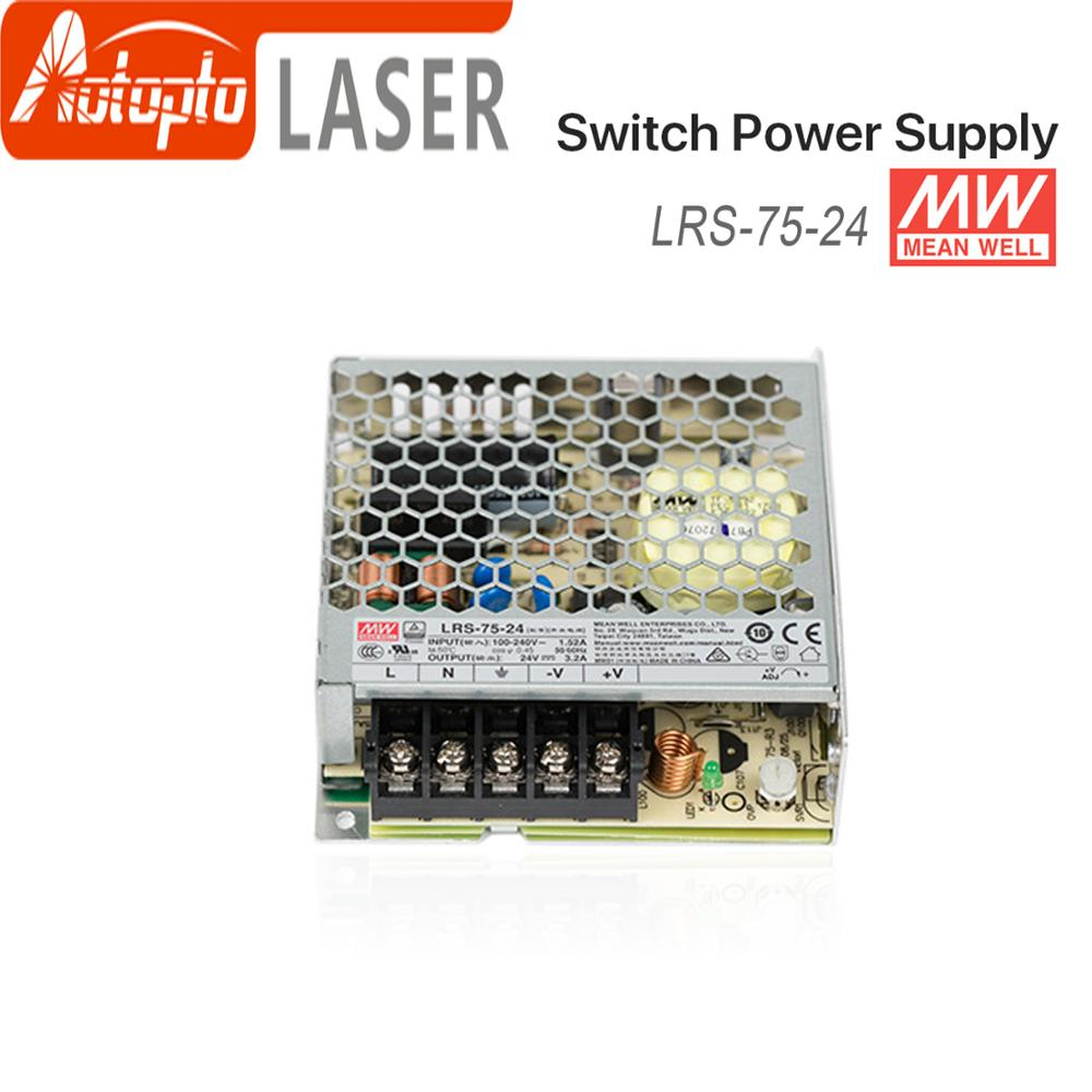 advantages mean well cen 75 15 15v 5a meanwell cen 75 15v 75w single output led power supply Meanwell LRS-75 Switching Power Supply Switch Power Supply 5V 12V 15V 24V 36V 48V 75W  Original MW Taiwan Brand for Laser Contro