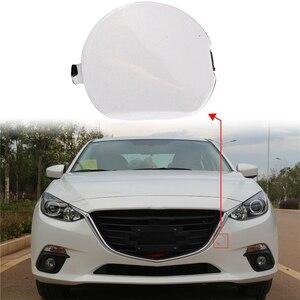 1Pcs Front Bumper Tow Hook Cover Cap for Mazda 3 Axela 2014-2016 BHN1-50-A11-BB