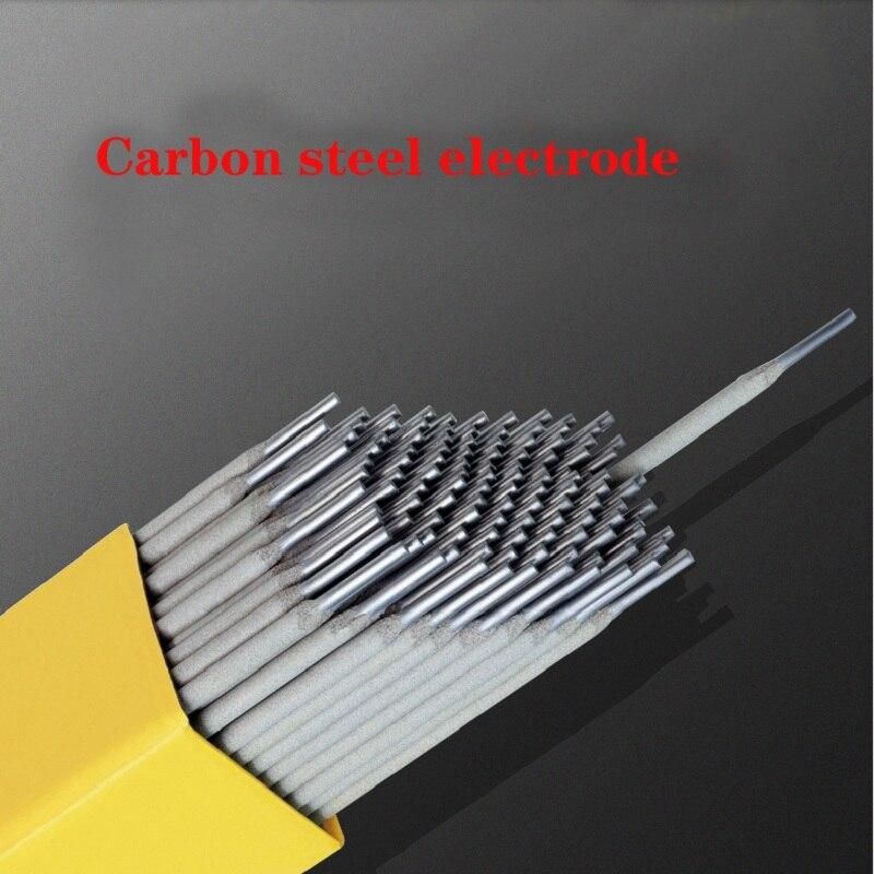 Free shipping Carbon steel welding rod 10pcs/bag diameter 2.0 2.5 3.2 4.0 welding electrode AC DC