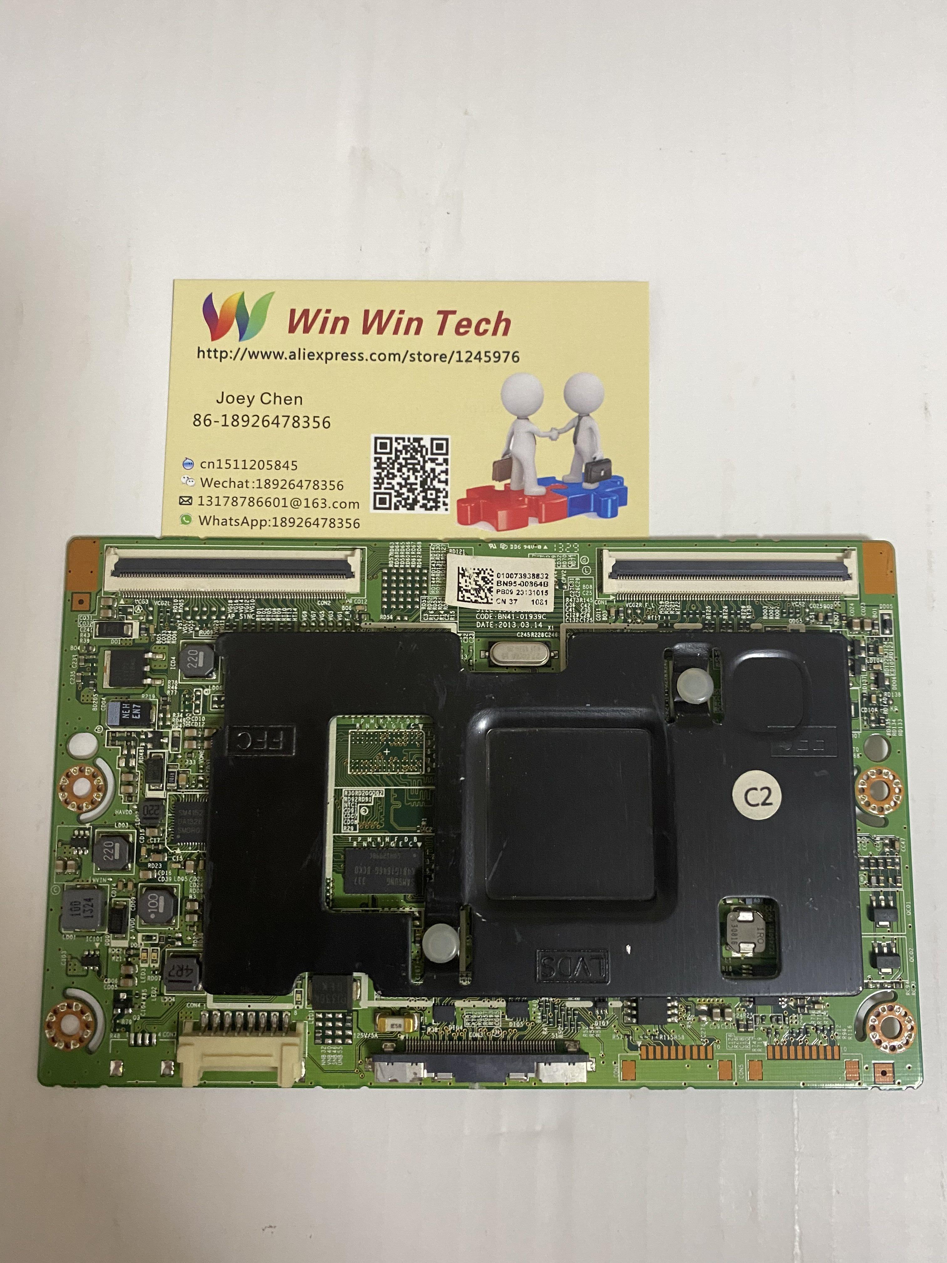 BN41-02069A BN95-01131A 100% Good test T-con board for Samsung UA55F6400AJXXR BN41-02069A BN95-01131A недорого