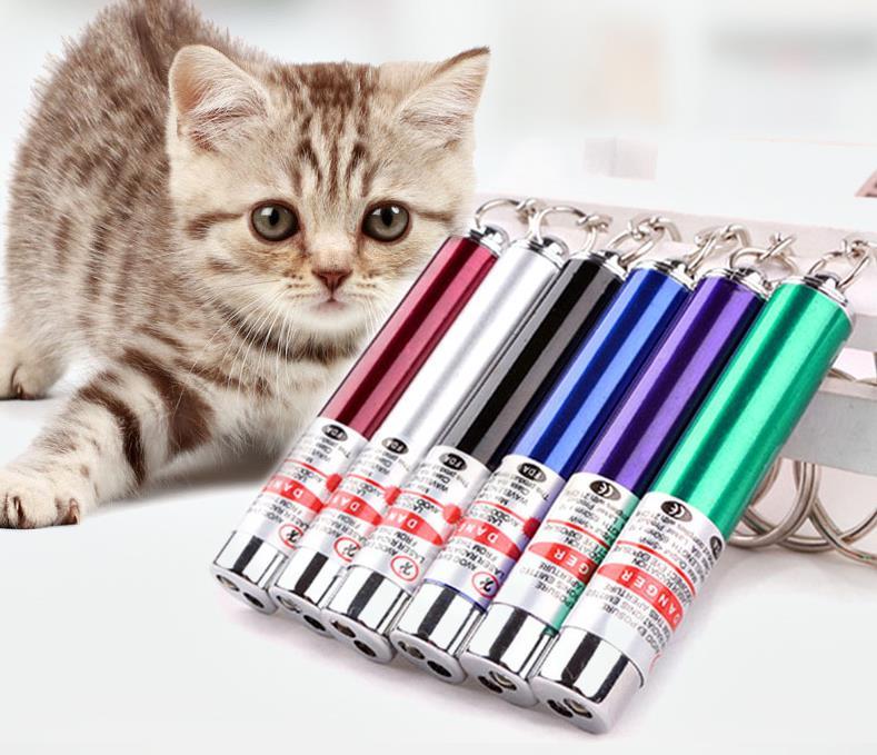 Animal de Estimação Suprimentos para Animais de Estimação Criativo Engraçado Laser Gato Brinquedo Caneta Ponteiro Interativo Cor Aleatória Sn3888 200 Pçs Led