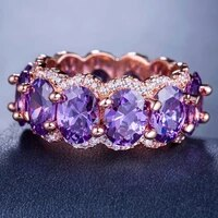 explosive accessories ring new jewelry simple inlaid zircon european and american style retro ladies ring