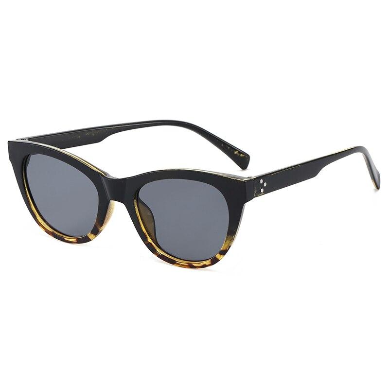 2020 NEW Fashion Round Cat Eye Sun Glasses Brand Design Women Men Vintage Colorful Cateye Sunglasses