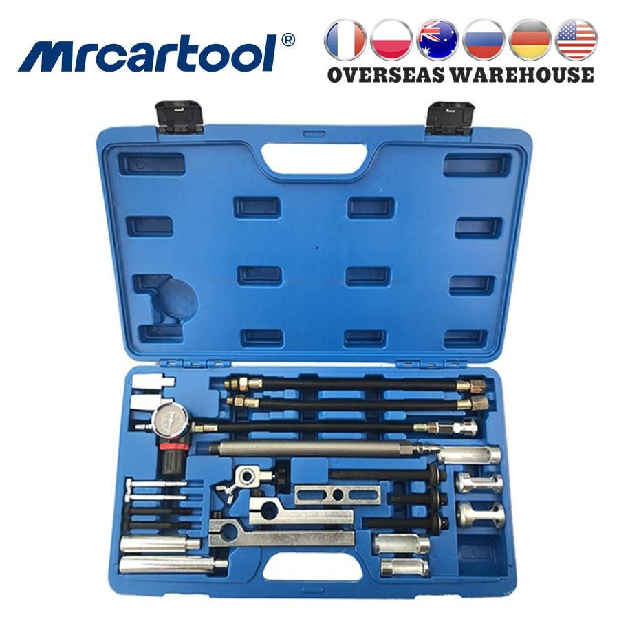 MRCARTOOL Universal Valve Spring Compressor Engine Cylinder Head Remover Installer Tool For BMW Mercedes-Benz Volvo Toyota Ford
