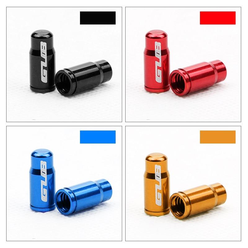 GUB 4 adet Schrader veya Presta meme kapağı bisiklet vana alaşımlı kapağı isteğe bağlı A/V F/V ışık ağırlık erozyon rustik ücretsiz