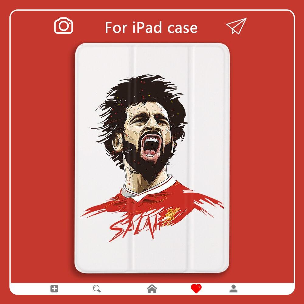 Caso do jogo de futebol para ipad mini 5 estrela de futebol capa de couro do plutônio duro de volta para ipad 7th geração caso ar 2 pro 2020