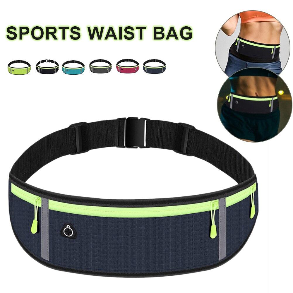 Портативная Водонепроницаемая поясная сумка для бега, бега, пешего туризма, спортивный ремень, противокражная сумка, спортивные аксессуары...