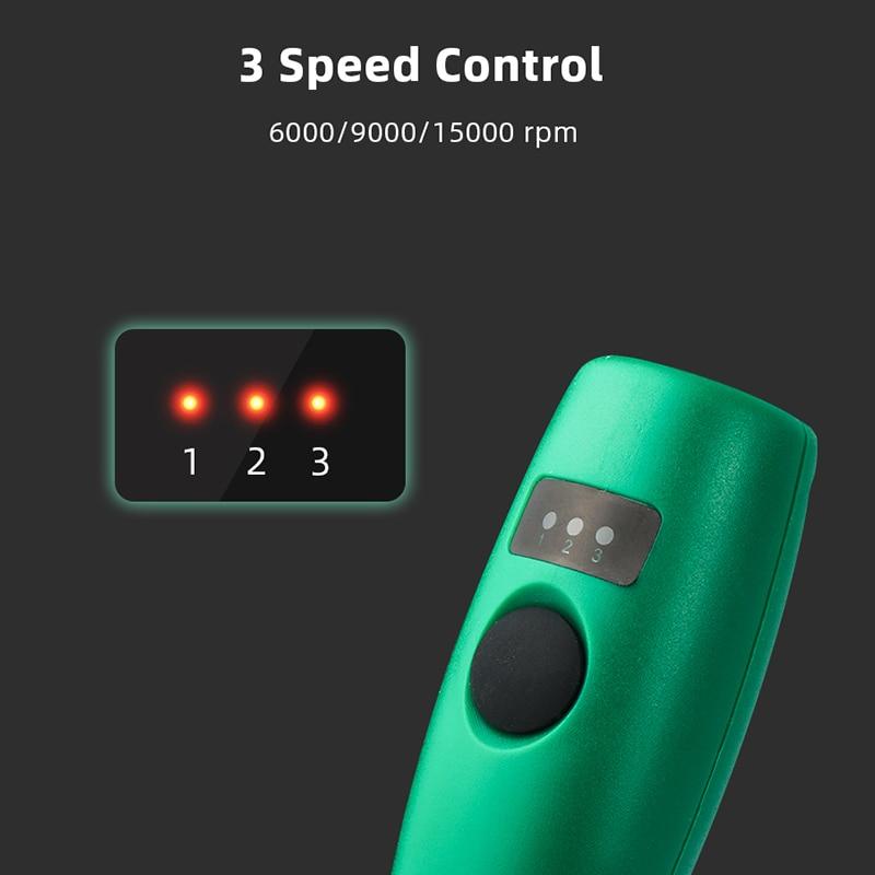 Mini trapano wireless penna per intaglio elettrico kit di utensili - Utensili elettrici - Fotografia 3