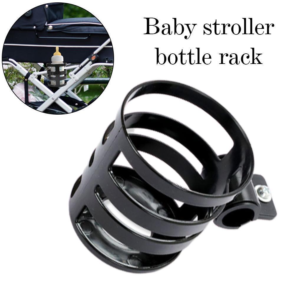 Portabotellas de plástico para carrito de bebé rosa, negro, azul, portabotellas rápido para bicicleta Q4Y8