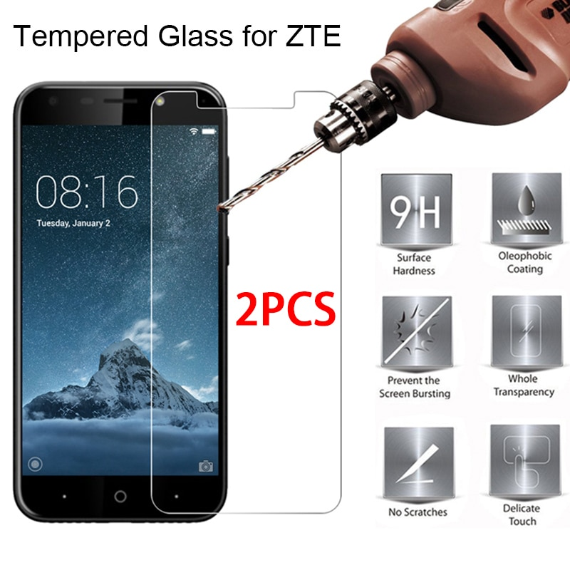 2PCS Screen Protector Protective Glass For ZTE Nubia M2 N1 Lite N2 N3 V18 Tempered Glass For Nubia Z7 Z9 Max Mini Z11