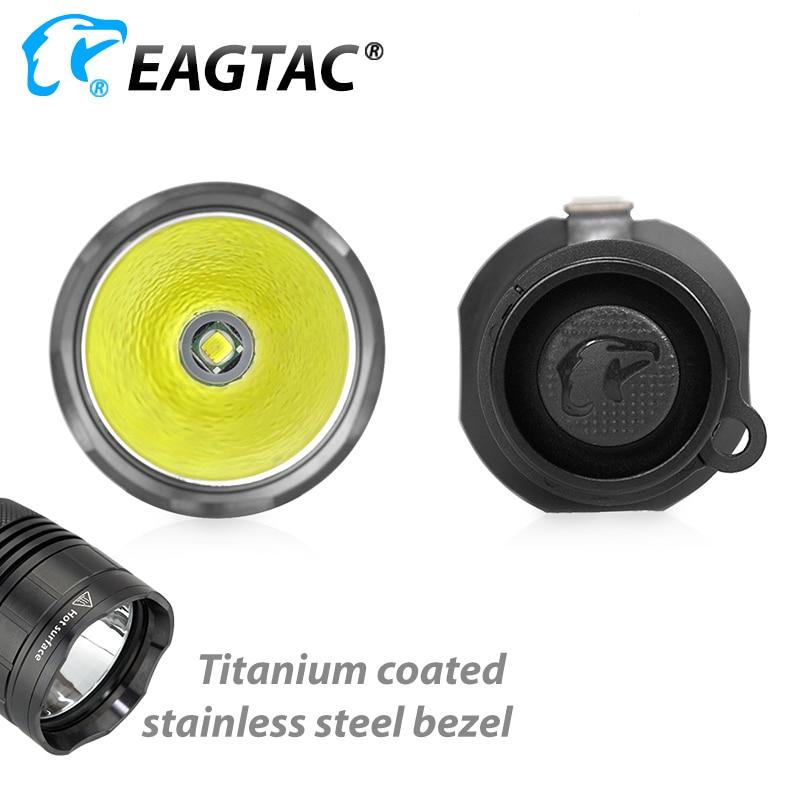 EAGTAC G25C2 Tactical LED Flashlight Gun Mount Hunting Light Color Filter Extender Tube Programmable Outputs enlarge