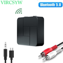 Bluetooth 5.0 Receiver Transmitter 3.5mm 3.5 AUX Jack RCA USB Dongle Wireless Audio Adapter Handsfre