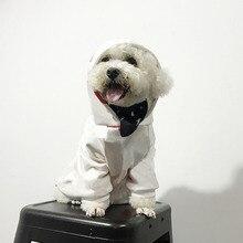 Sweat à capuche pour chien imprimé coeur rouge mode pour petits chiens sweat à capuche pour bouledogue français Chihuahua manteau tenue de mode chiot Costume