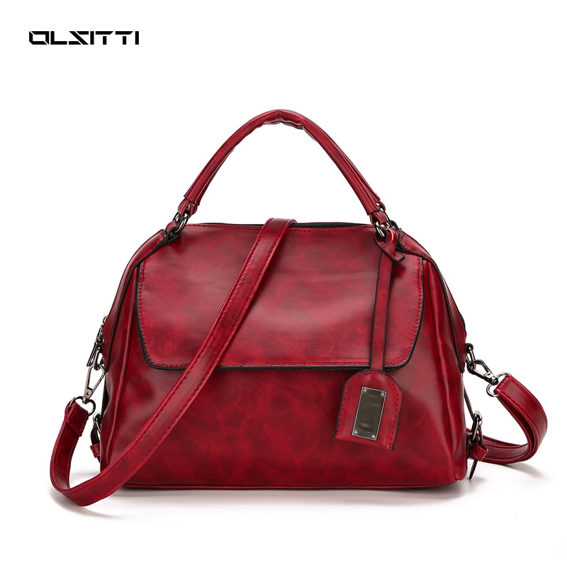 OLSITTI 2021 High Quality Women's Handbag Solid Color Shoulder Bags for Women 2021 New Designer Bags
