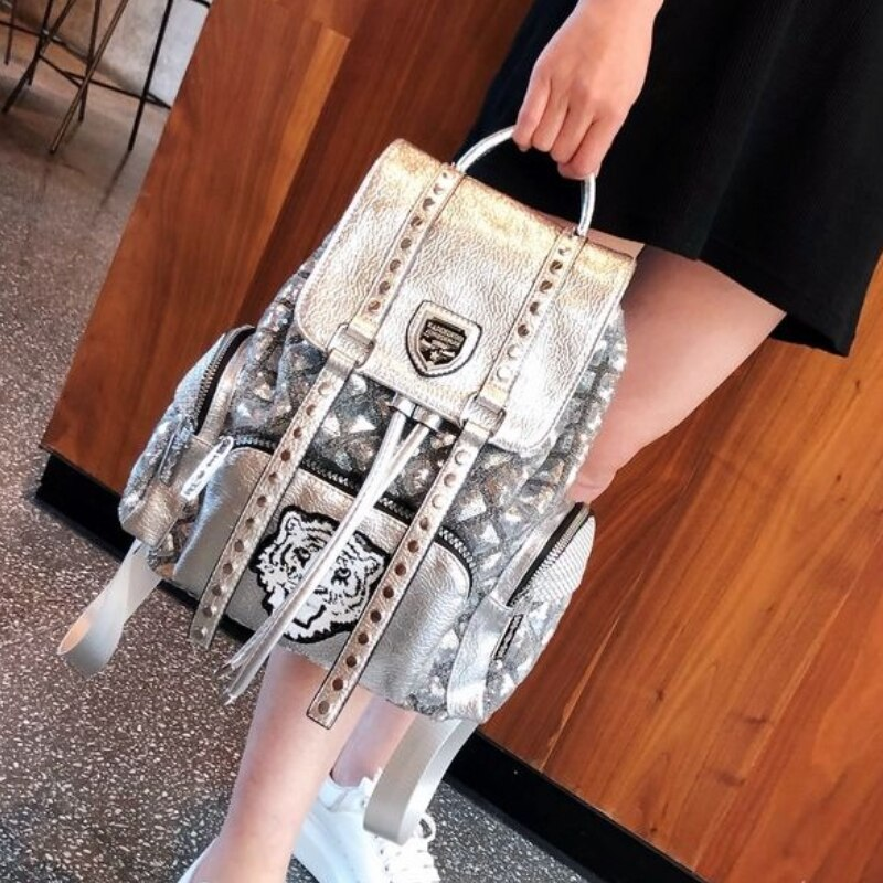Brand Squines Mochilas Para Mujer Animal Prints Ita Backpack Women Shoulder Sac Femme 2021 School Travel Bolso Mujer