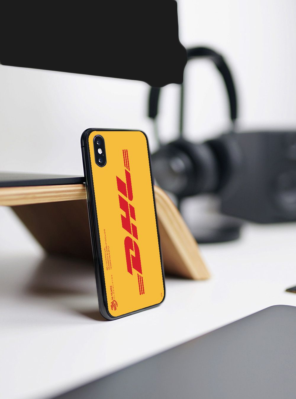 Easybyz DHL Express caso de moda para iPhone 11 Pro XR X Xs X Max 8 7 6 Plus 6S 5S SE esmerilado casos de silicona suave carcasa de la contraportada