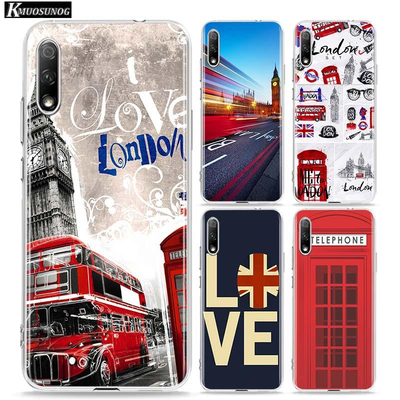 London big ben Bus Clear TPU Cover for Huawei Honor 10i 9X 8X 20 10 9 Lite 8 8A 7A 7C Pro Lite Phone Case