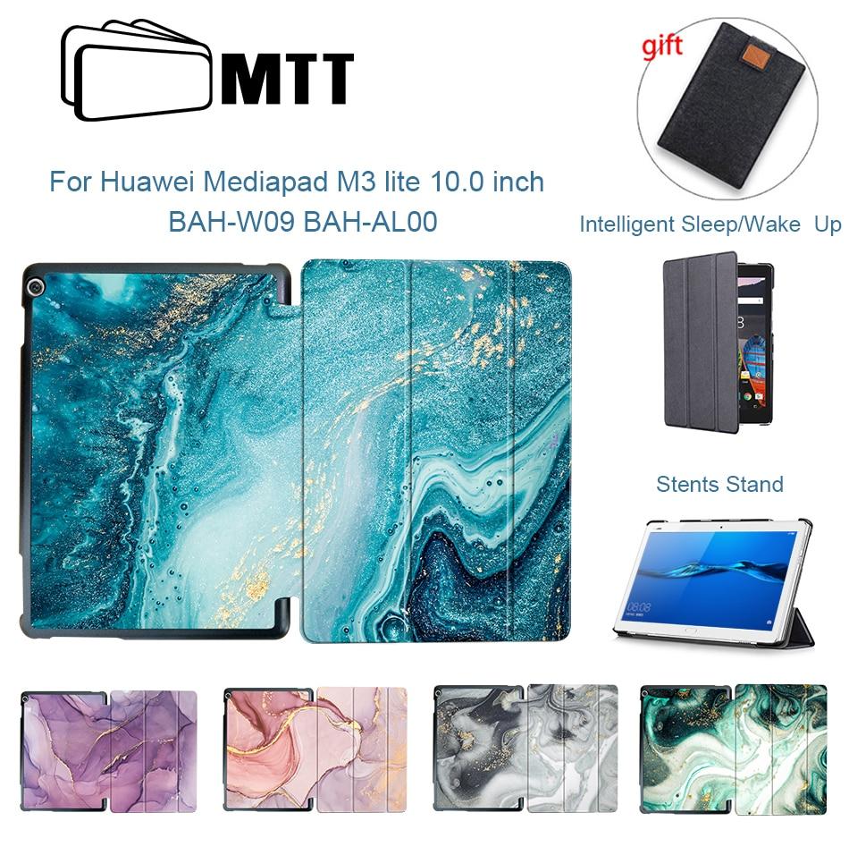 MTT Мрамор чехол для планшета для huawei Mediapad M3 Lite 10,0 дюймов BAH-L09 bah-AL00 10,1