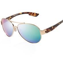 LORETO Polarized Sunglasses Men Vintage Pilot Sun Glasses For Men Male Sport Sunglasses UV400 Square