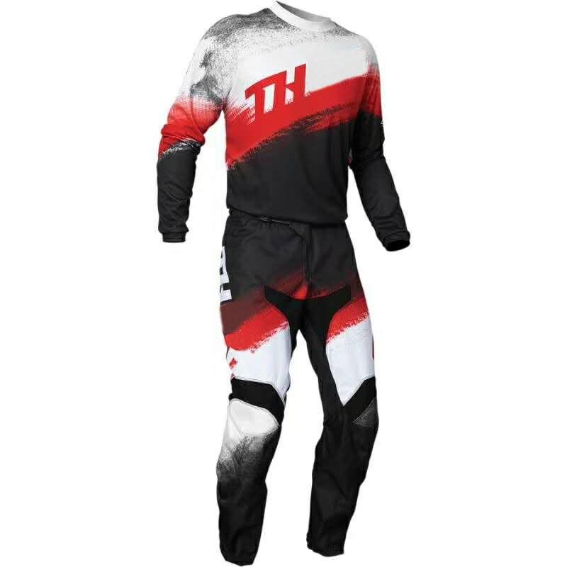 2020 Motocross cuesta abajo bicicleta de carretera de tierra de carreras de MX Sector Kit Vapor Combo rojo/Negro MX ATV/UTV fuera de la carretera