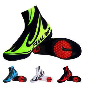 Fualrny Профессиональный Для мужчин MTB Велоспорт Бахилы быстросохнущая 100% лайкра спортивные кроссовки гоночный велосипед Велоспорт галош        АлиЭкспресс