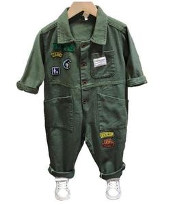 New Jumpsuits Baby Rompers Kids Boys Girls Jumpsuits Costumes Casual Children's Overalls One Piece Infant Kids Outfits