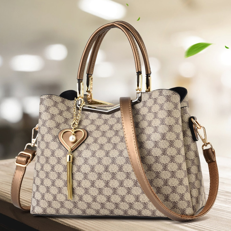 موضة جديدة للمرأة حقيبة سعة كبيرة حقيبة يد واحدة الكتف حقيبة ساعي المحافظ وحقائب اليد الفاخرة مصمم