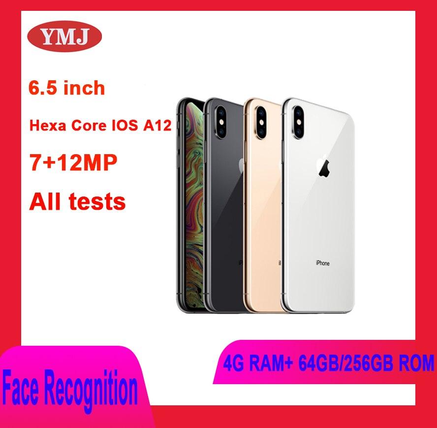 Original desbloqueado Apple Iphone XS MAX LTE 4G RAM 64GB/256GB ROM Smartphone...