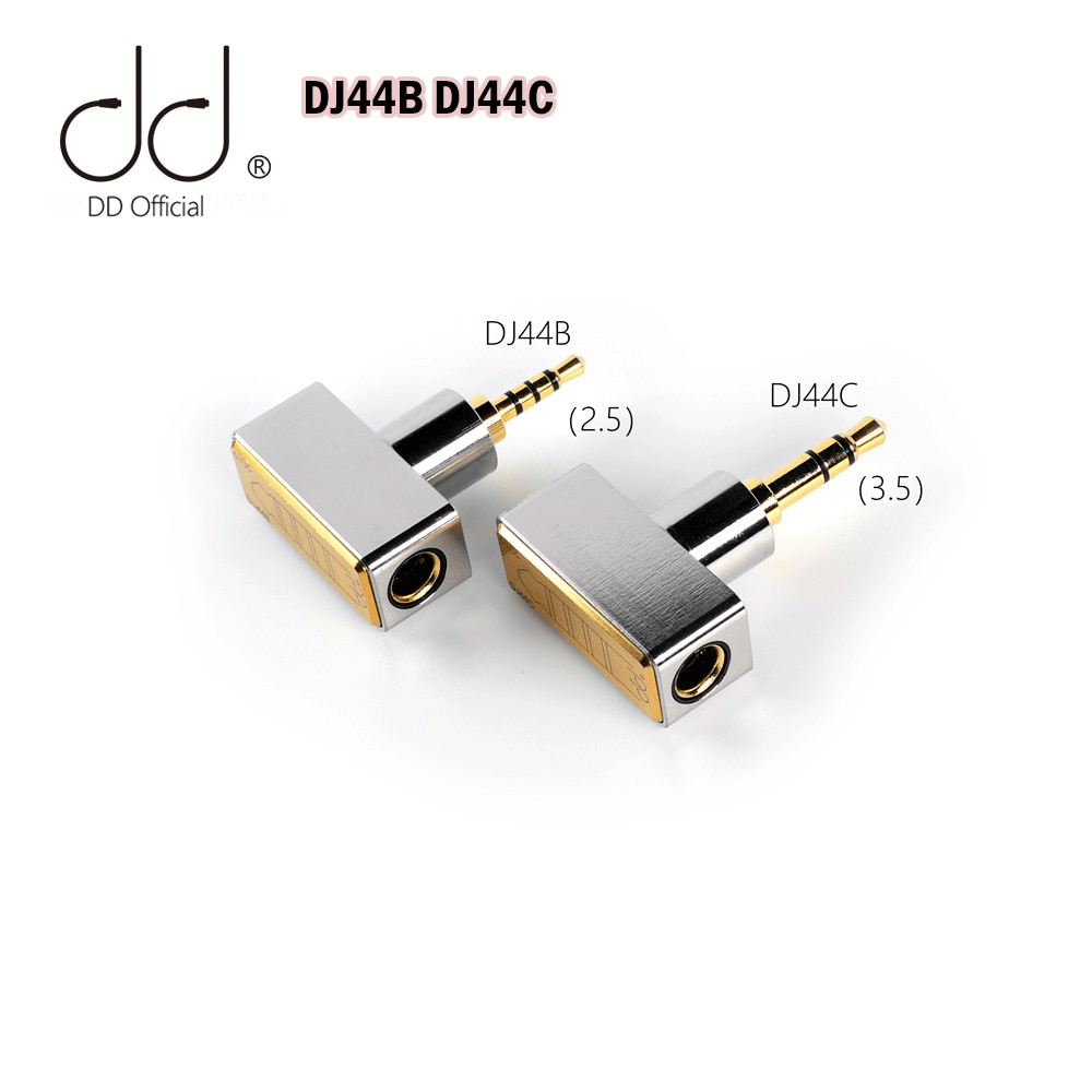 DD-adaptador equilibrado ddHiFi DJ44B DJ44C, hembra 4,4 Cable de auriculares de 4,4mm,...