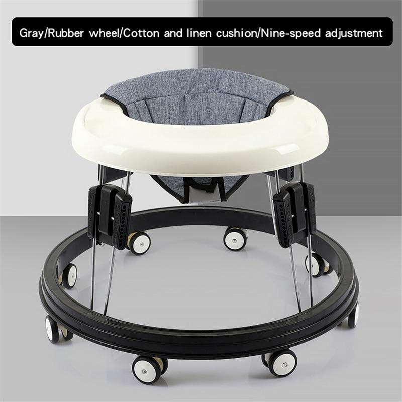 Baby Walker Multi-Functional Seat Car Anti Rollover Wheel Walker Learning Stand Infant Walk Adjustable For Children 0-36 Months enlarge