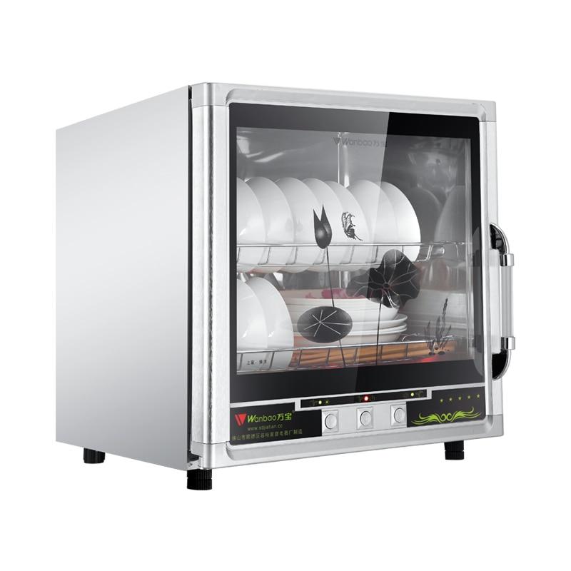 Armário de desinfecção de alta temperatura, utensílios de mesa de aço inoxidável comercial, xícara de chá, armário de desinfecção vertical
