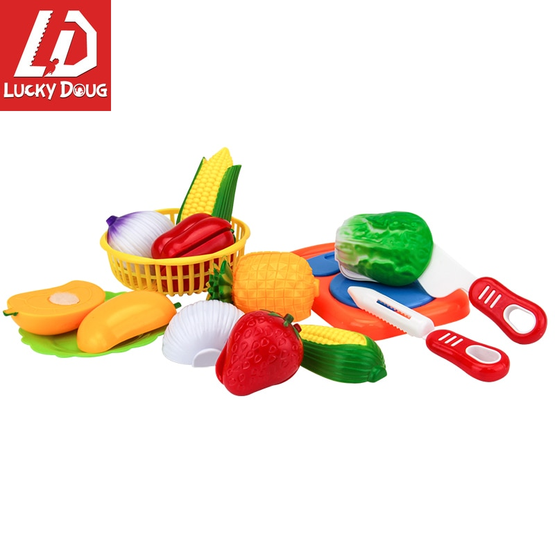 12 шт кухонная Обучающие игрушки пластиковые фрукты овощи ролевые игры, игрушки для детей, овощи для резки игрушки обучающие карточки овощи и фрукты