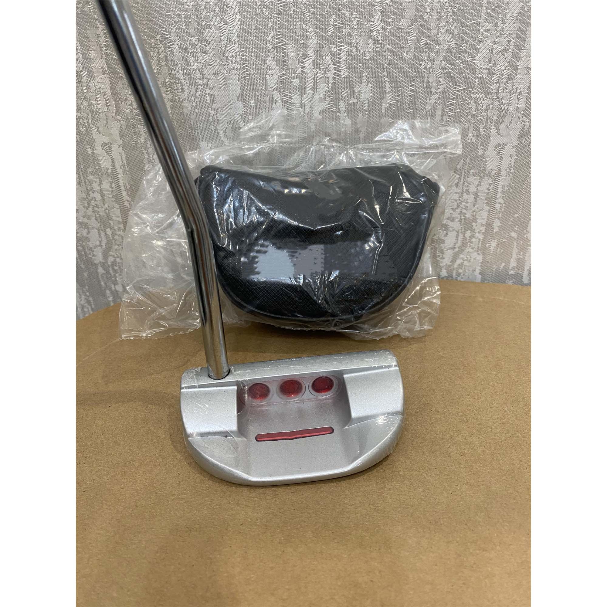 Golf Putter, Small Semicircular Putter, Adjustable Weight