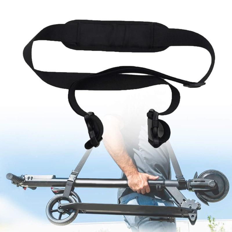 Adjustable Non-Slip Shoulder Strap Belt Carrying Strap for Xiaomi M365 Electric Scooter Ninebot ES1 ES2 Shoulder Hand Strap Belt
