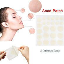 24 Pcs Acne Patch Round Patch Treatment Acne Master Patch Treatment Facial Skin Care Cosmetic Acne C