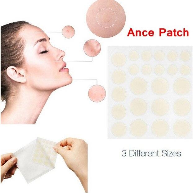 24 produtos cosméticos dos cuidados com a pele do tratamento do remendo da acne do remendo da acne do tratamento redondo do remendo da acne dos pces