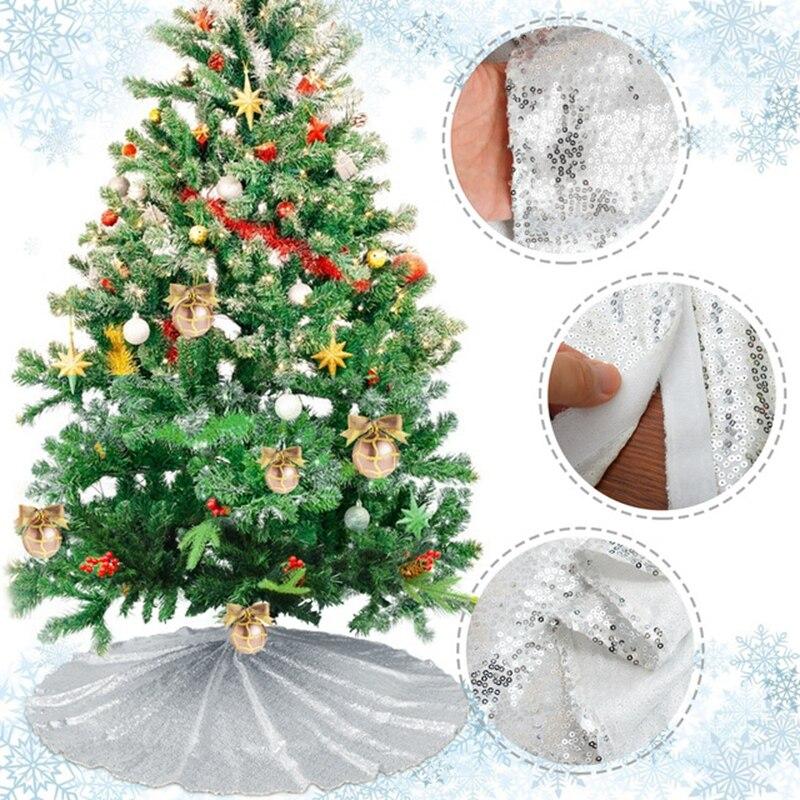Falda De árbol De Navidad, adornos De Navidad De lujo, decoración De...