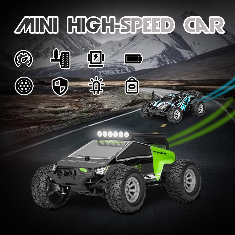 RC Cars Mini Remote Control Car for Kids 2.4GHz 1:32 RC Car With LED Light 20KM/H High Speed High Quality Racing Car Toys