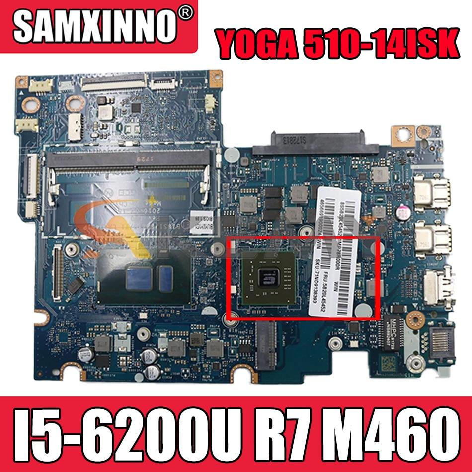 Akemy BIUS1/S2/Y0/Y1 LA-D451P لينوفو اليوغا 510-14ISK FLEX4-1470 اللوحة المحمول وحدة المعالجة المركزية I5 6200U R7 M460 2G DDR4 100% اختبار