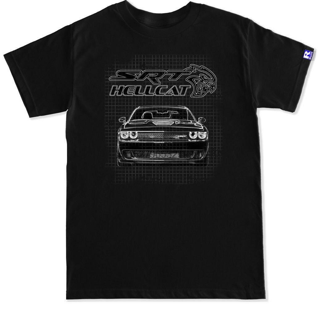Challenger Hellcat SRT Supercharged футболка Размер S-3XL pride унисекс новая модная футболка мужские женские худи Бесплатная доставка